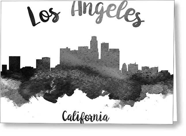 Los Angeles California Skyline 18 Greeting Card