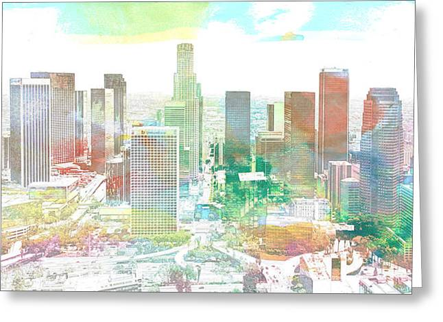Los Angeles, California, United States Greeting Card