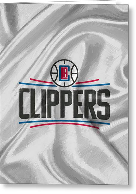 Los Angeles Clippers Greeting Card