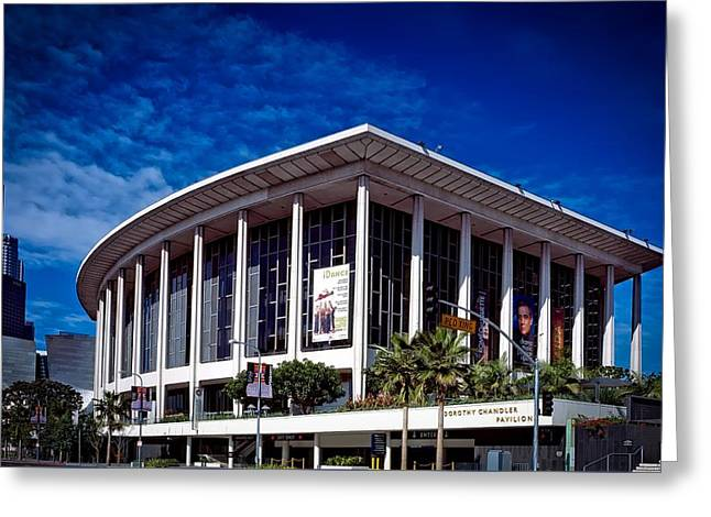 Los Angeles Opera Building - Chandler Pavilion Greeting Card by Mountain Dreams