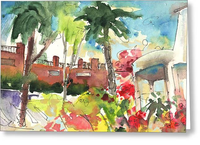 Los Gigantes In Tenerife 03 Greeting Card by Miki De Goodaboom