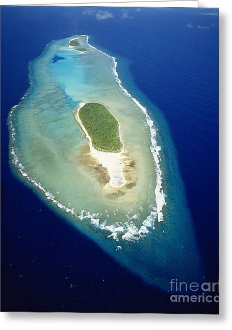 Warner Park Greeting Cards - Losiep Atoll Greeting Card by Mitch Warner - Printscapes