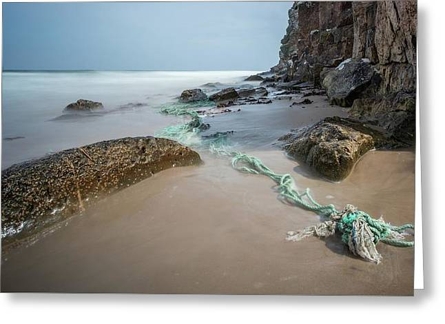 Lossiemouth Beach Greeting Card by Buster Brown