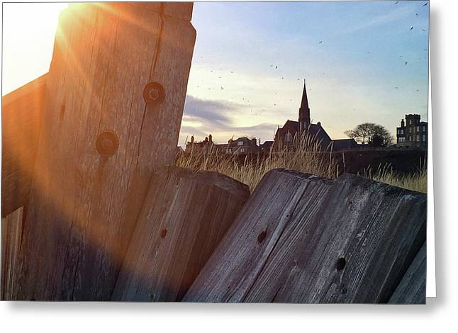 Lossiemouth Sunset Greeting Card