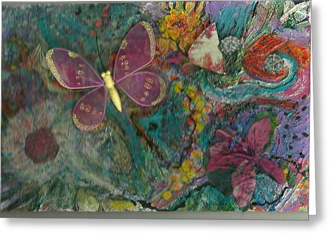 Lost And Found Greeting Card by Anne-Elizabeth Whiteway