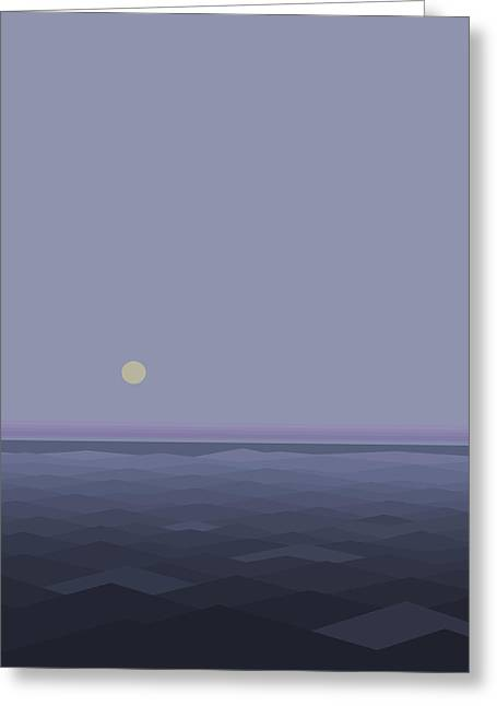 Lost At Sea Greeting Card by Val Arie