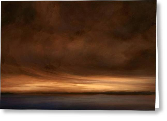 Lost Horizon Greeting Card by Lonnie Christopher