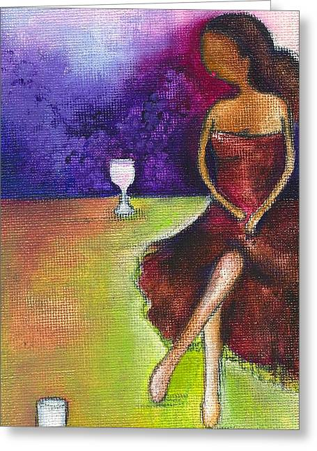 Lost In Grapes Greeting Card by Ricky Sencion