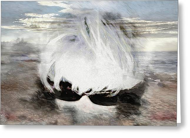 Greeting Card featuring the photograph Lost In Thought by Pennie  McCracken