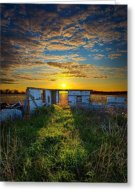 Geographic Greeting Cards - Lost in Time Greeting Card by Phil Koch