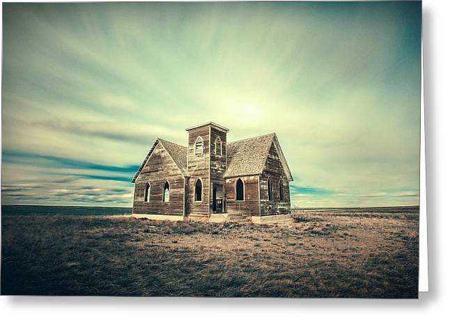 Lost In Time Greeting Card by Todd Klassy