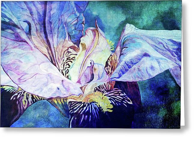 Lost Iris Passion 93 L_2 Greeting Card