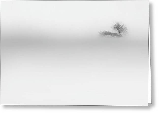 Lost Island Greeting Card by Bill Wakeley