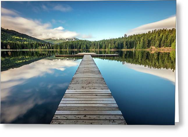 Lost Lake Dream Whistler Greeting Card by Pierre Leclerc Photography