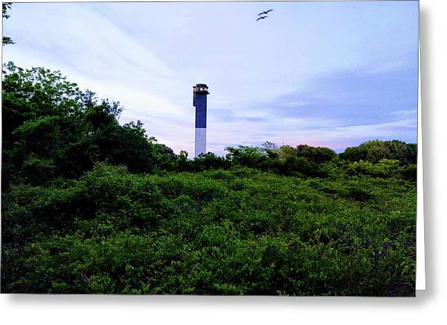 Lost Lighthouse Greeting Card