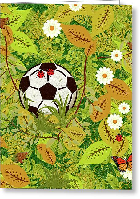 Lost My Ball Greeting Card