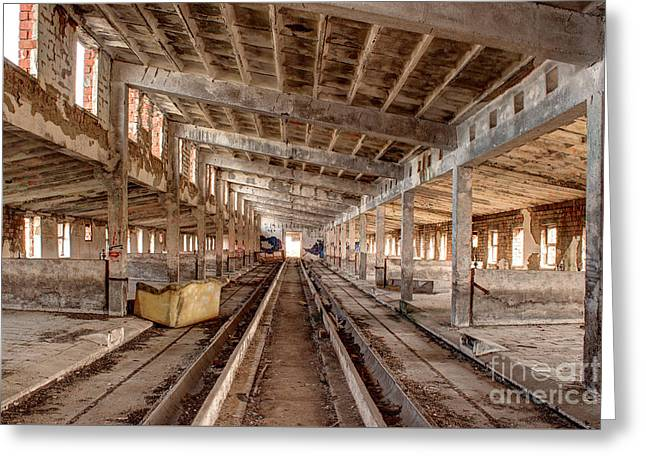 Lost Places Greeting Card by Christian Hallweger