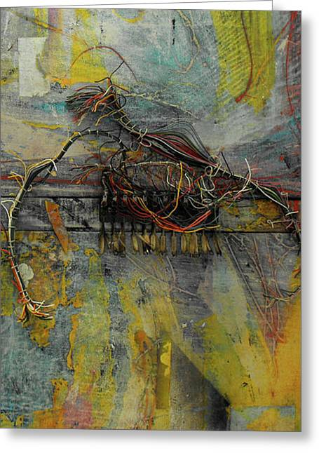 Component Mixed Media Greeting Cards - Lost Greeting Card by Ralph Levesque
