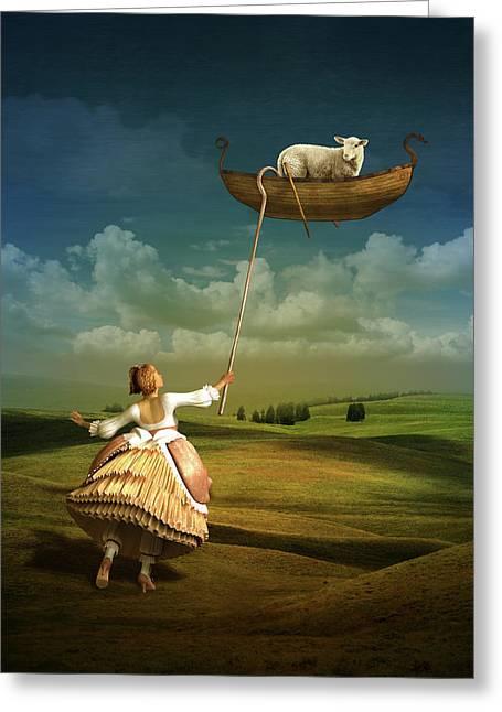 Lost Sheep Greeting Card