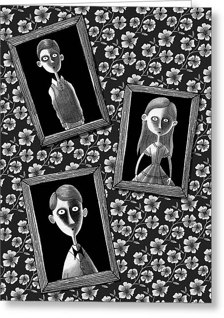 Lost Souls  Greeting Card by Andrew Hitchen
