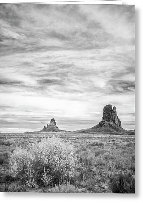 Lost Souls In The Desert Greeting Card by Jon Glaser
