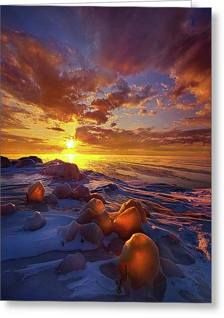 Lost Titles, Forgotten Rhymes Greeting Card by Phil Koch