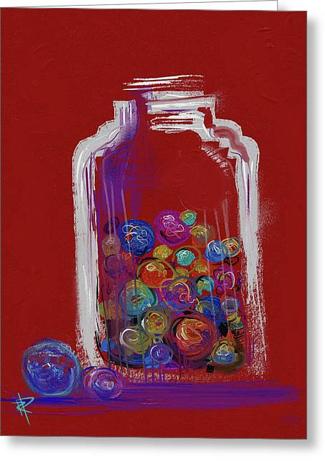Lost Your Marbles? Greeting Card