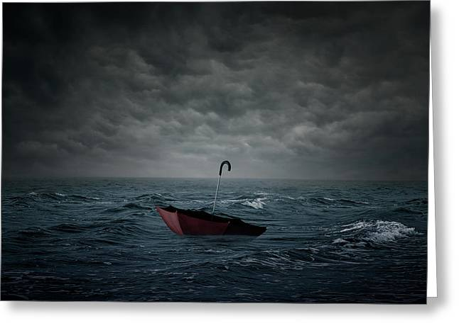 Lost Greeting Card by Zoltan Toth