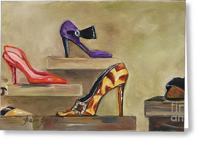 Lots Of Shoes Greeting Card