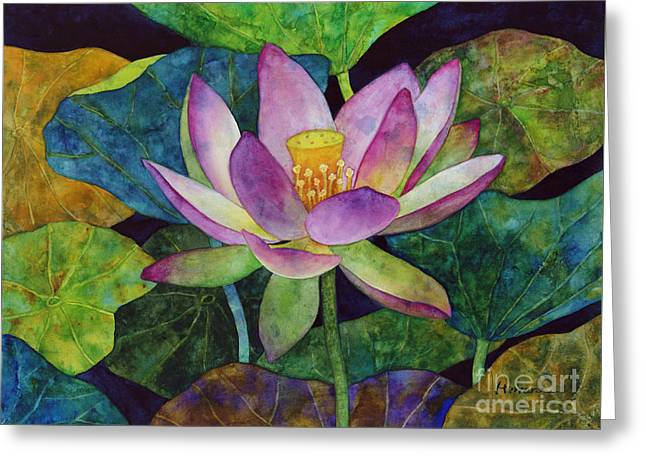 Lotus Bloom Greeting Card