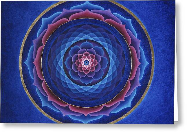 Lotus Eye Greeting Card