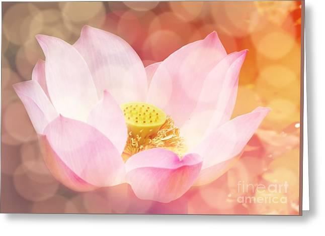 Lotus  Greeting Card by Jacky Gerritsen