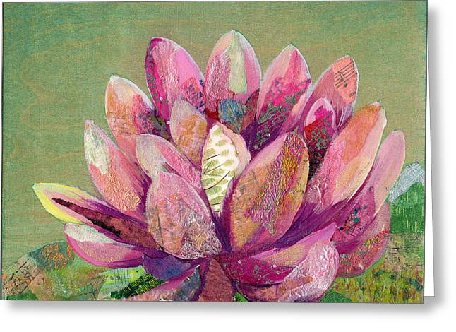 Lotus Series II - 1 Greeting Card