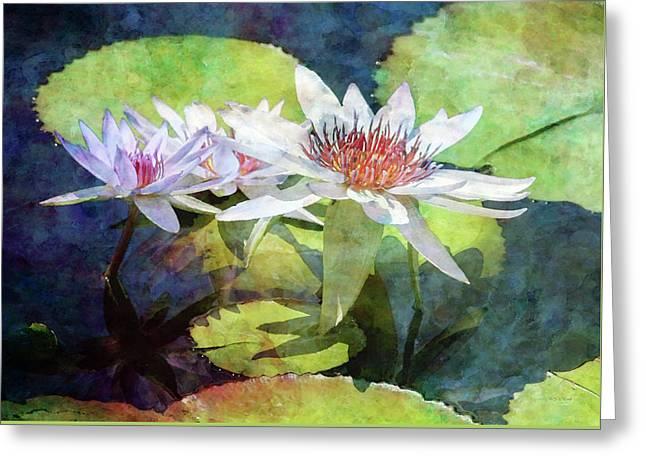 Lotus Trio 2923 Idp_2 Greeting Card