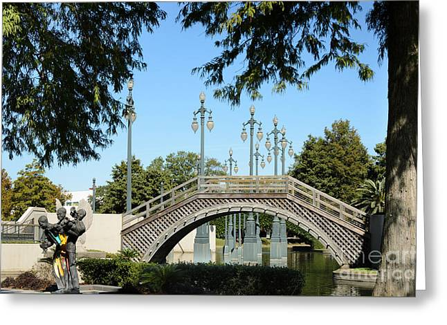 Historic Site Greeting Cards - Louis Armstrong Park - New Orleans Greeting Card by Debra Martz