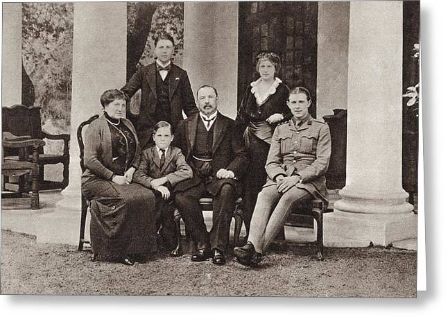 Louis Botha And His Family. Louis Greeting Card