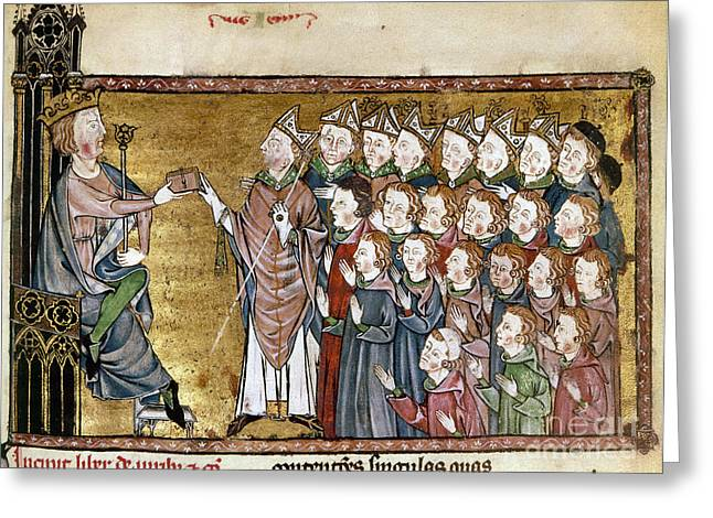 Louis Ix (1214-1270) Greeting Card