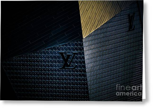 Louis Vuitton At City Center Las Vegas Greeting Card