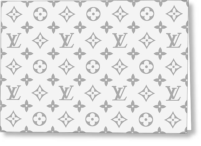 Louis Vuitton Pattern - Lv Pattern 14 - Fashion And Lifestyle Greeting Card