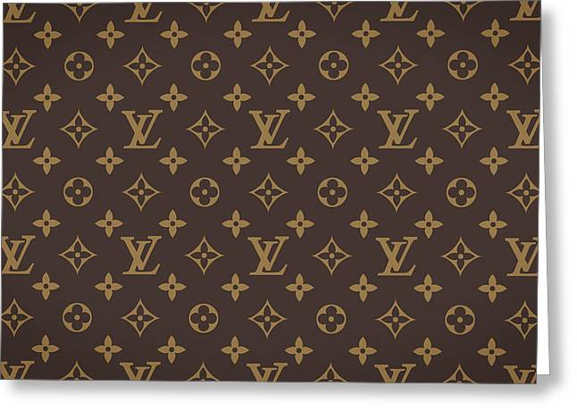 Louis Vuitton Texture Greeting Card