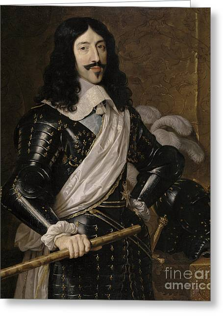 Louis Xiii Of France Greeting Card by Philippe de Champaigne