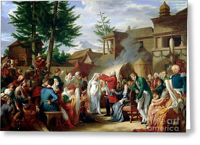 Louis Xviii Couronne  Greeting Card by MotionAge Designs