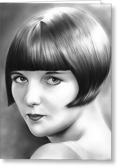 Louise Brooks Greeting Card