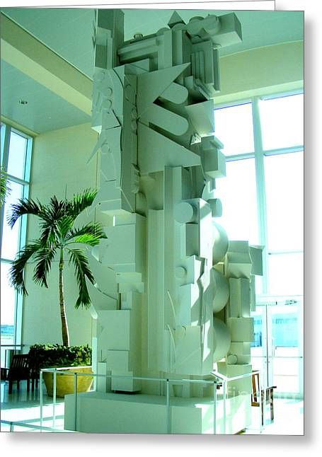 Louise Nevelson Sculpture Greeting Card