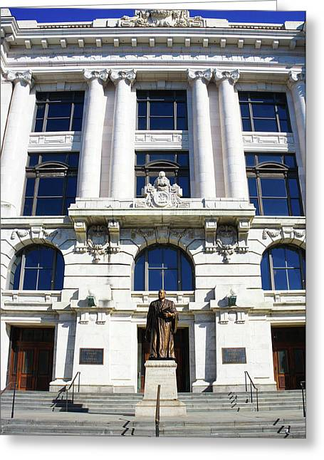 Louisiana Supreme Court Building, New Orleans, Louisiana Greeting Card by Art Spectrum