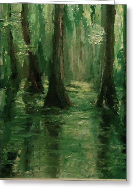 Louisiana Swamp Greeting Card