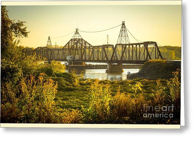 Louisiana Swing Bridge Greeting Card