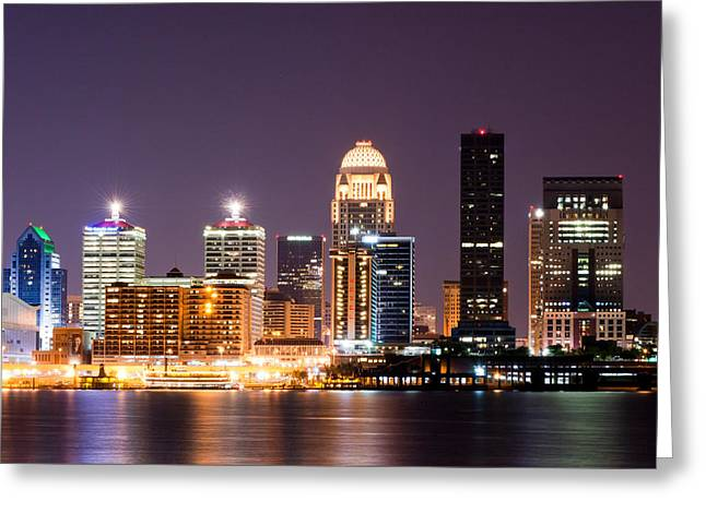 Louisville 1 Greeting Card by Amber Flowers