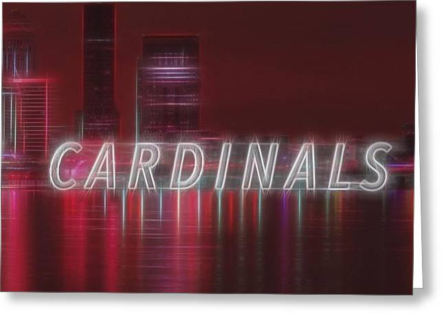 #louisville #cardinals Greeting Card