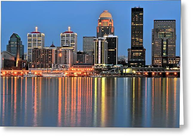 Louisville Close Up Greeting Card by Frozen in Time Fine Art Photography